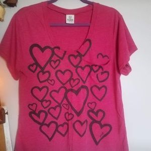 VS Pink Graphic T